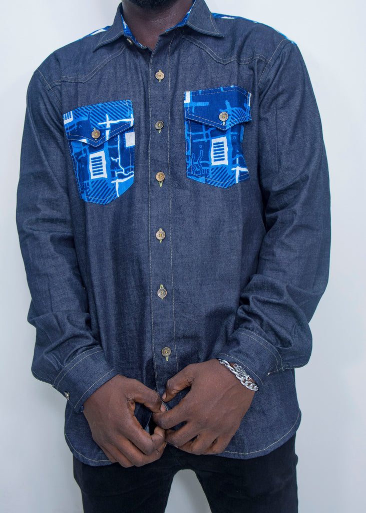 Pepperfruit Alpha II Denim Shirt