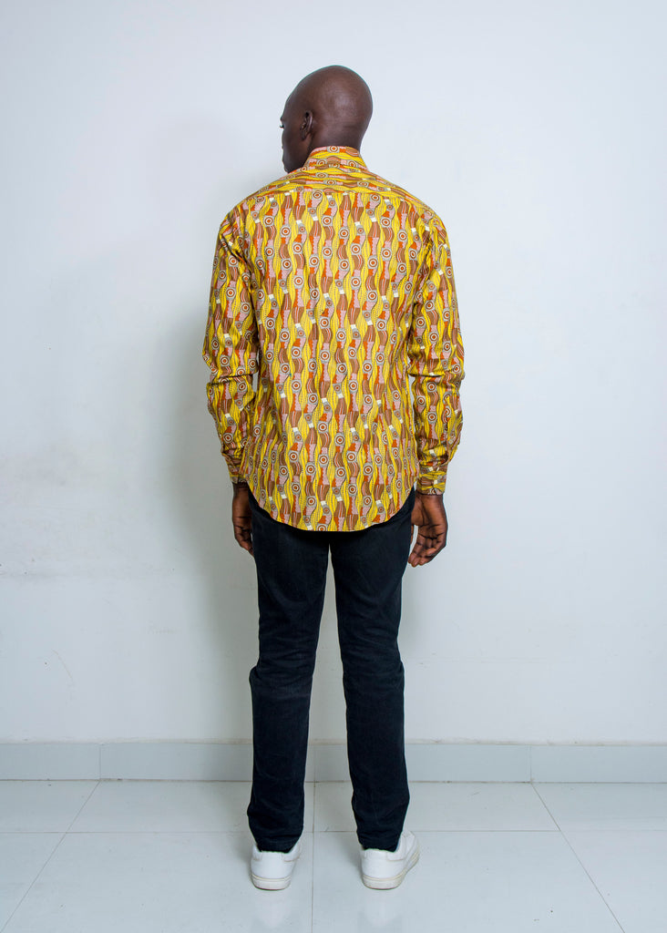 Pepperfruit Abuja VII Print Cotton Shirt