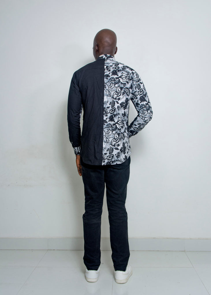 Pepperfruit Accra II Plain And Pattern Shirt