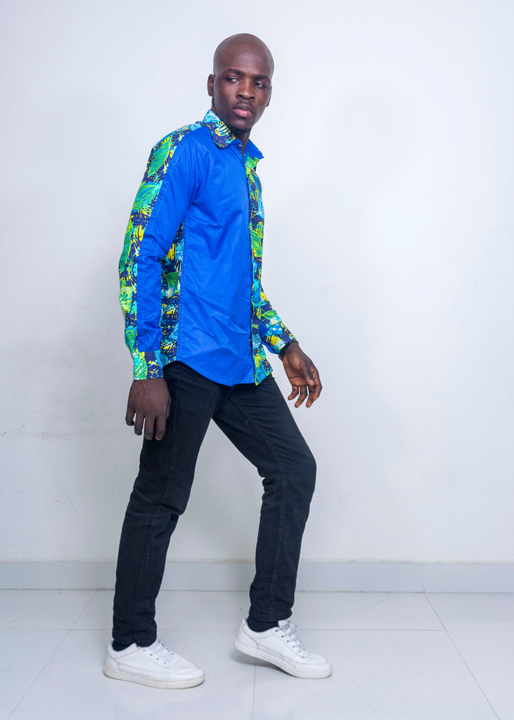 Pepperfruit Accra III Plain And Pattern Shirt