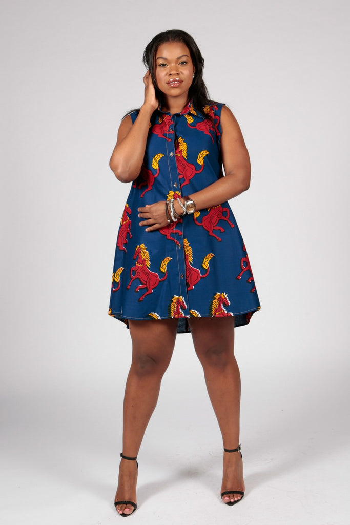 Pepperfruit  RedHorse Shirt Dress