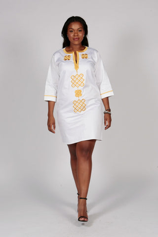 Pepperfruit  Ivoria  Embroidered Dress