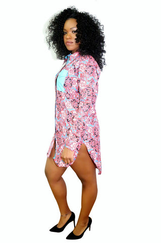 Pepperfruit Angeles Shirt Dress