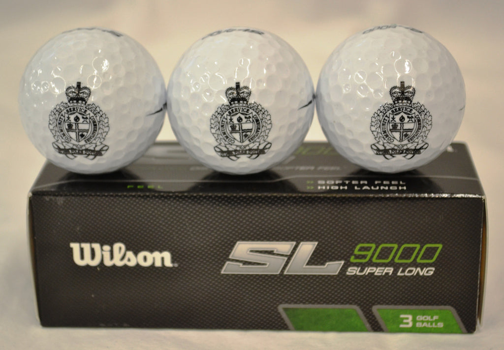 OPS  Wilson SL 9000 Golf Ball Sleeve/Balles de golf Wilson SL 9000