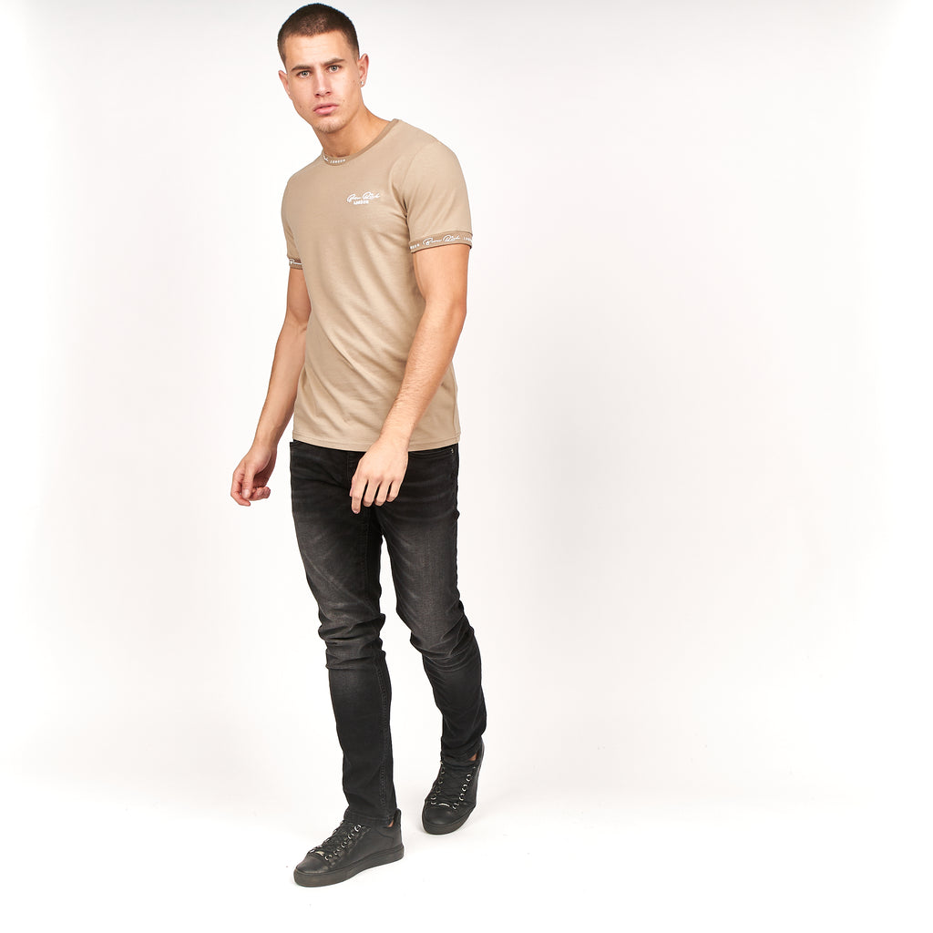 Acuna T-Shirt Simply Taupe