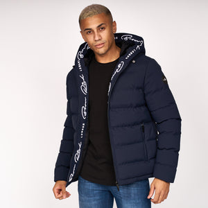 Emerton Hooded Jacket Sky Captain