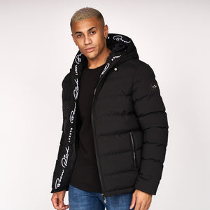Emerton Hooded Jacket Black