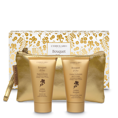 Beauty-Set Bouquet d'Oro (Körperlotion & Bade-/Duschgel je 75ml)