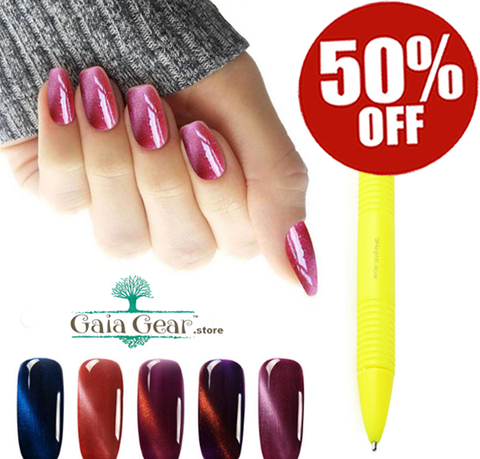 50% Off - New!!! 3D Magnetic Pen and Wand For Nail Gel Polish You Will Love!!!