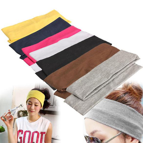 2PCS Elastic Yoga Headband