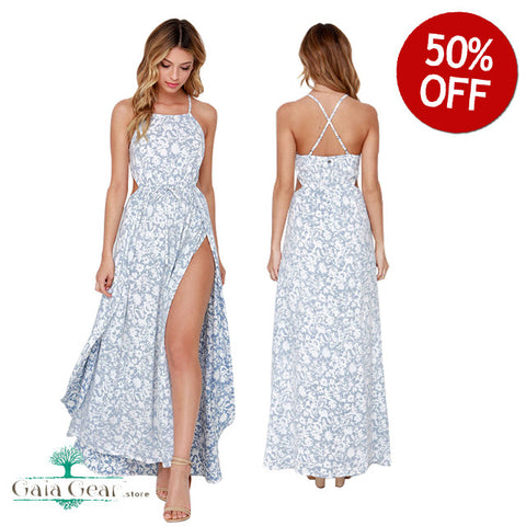 50% Off - New!!! Ashley Sexy Strap Maxi Dress You Will Love!!!