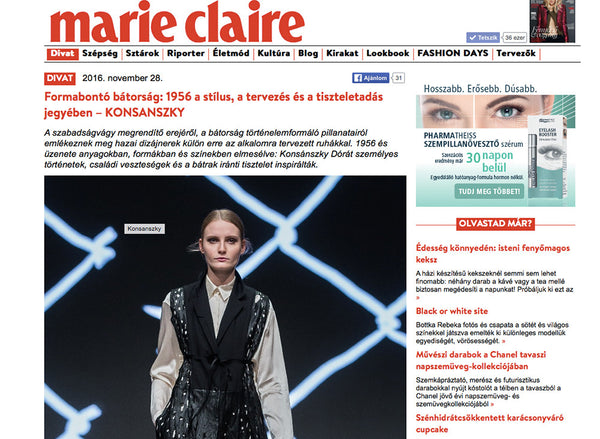 special Marie Claire project