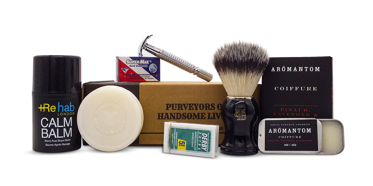 The Personal Barber traditional shaving box Feb-March 2018