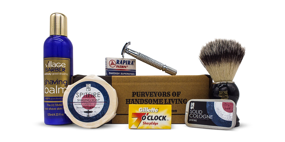 The Personal Barber shave club subscription kit july august 2018