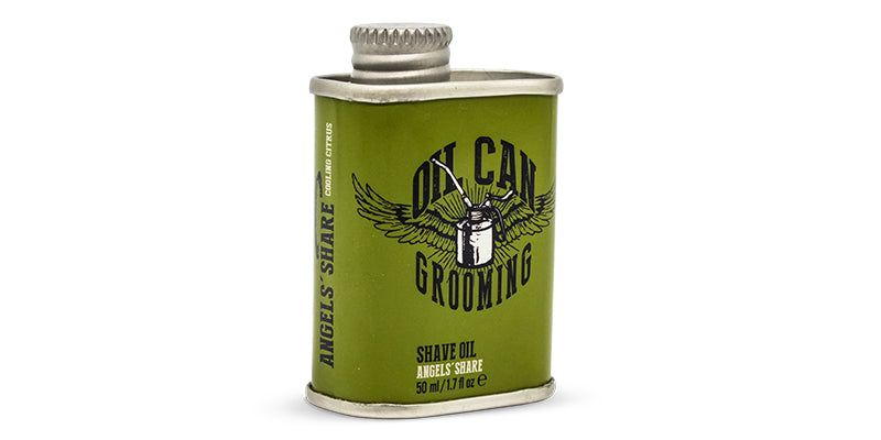 Shaving Oil from Oil Can Grooming