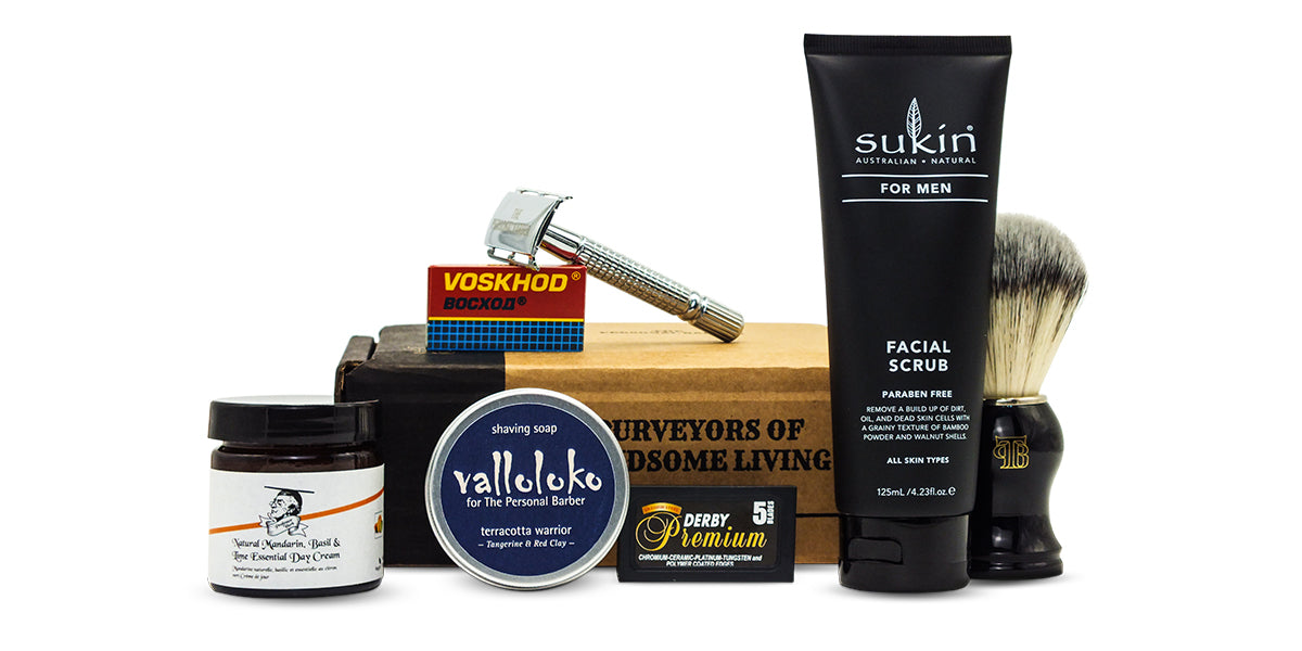 The Personal Barber NovDecember 2020 subscription box
