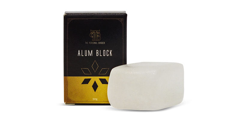 Wet Shaving Alum Block from The Personal Barber
