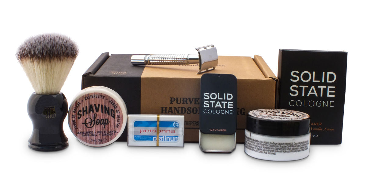 The Personal Barber June 2016 subscription box