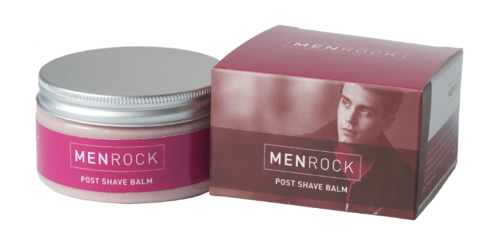 """the personal barber post shave balm from men rock"""" width"""