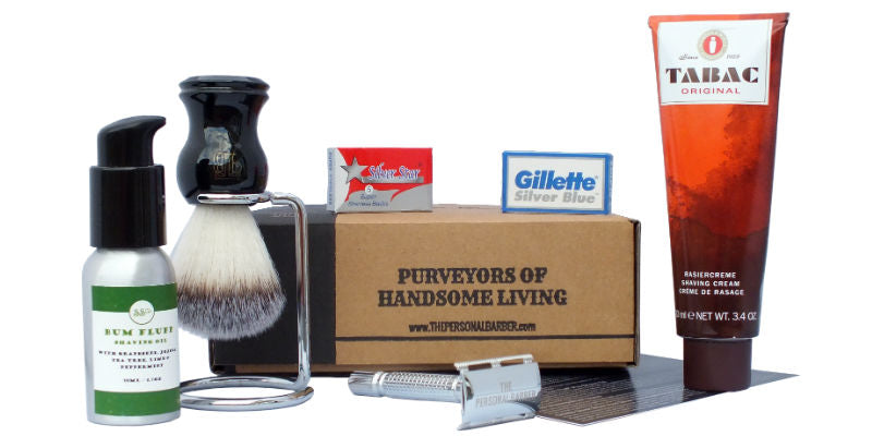 November shaving subscription box from The Personal Barber