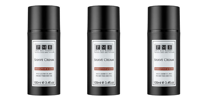 The Personal Barber December Box Feature Shaving Cream