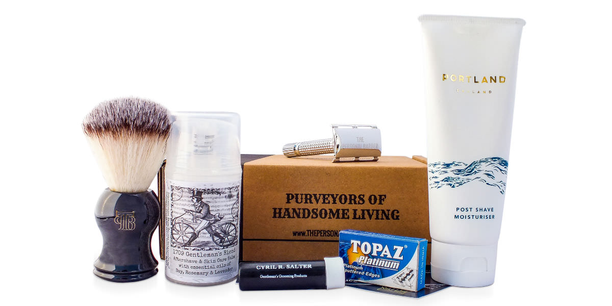 March Shaving Subscription Box From The Personal Barber