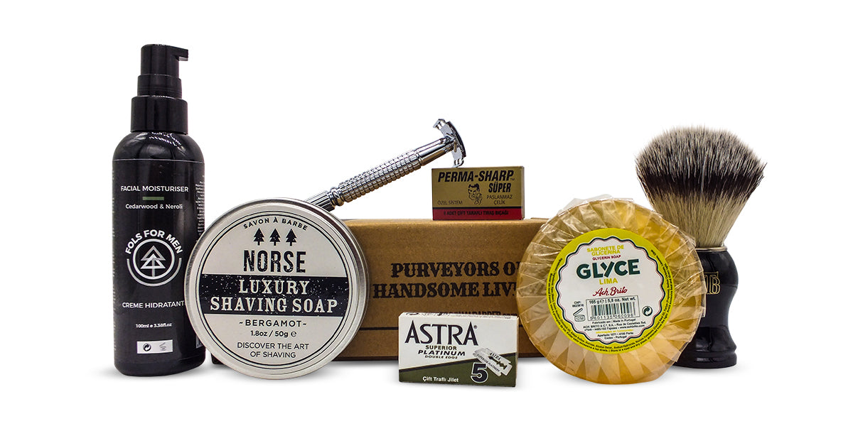the personal barber wet shaving subscription box April May 2018