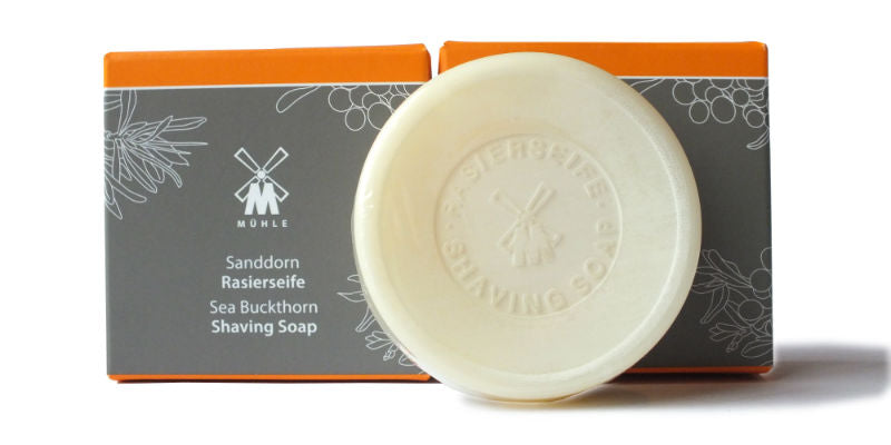 muhle shaving soap: sea buckthorn the personal barber