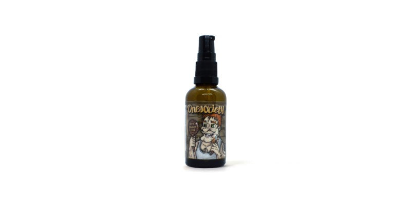 sweet rum and lime pre shave oil one society