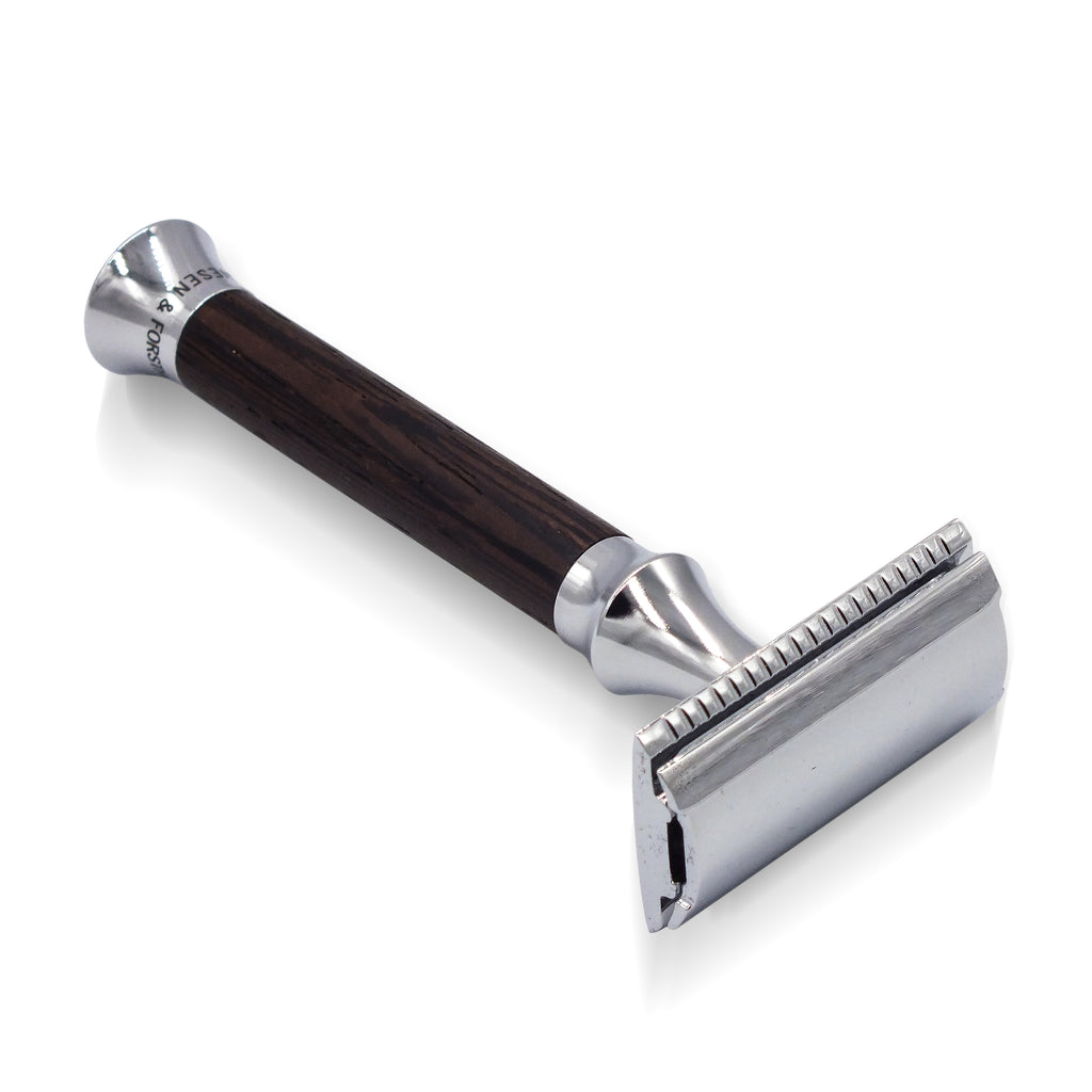Timor Vintage Edition Wenge Wood Closed Comb Safety Razor