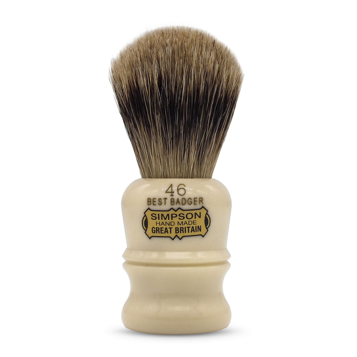 "Simpson's ""The Berkeley"" Best Badger Shaving Brush"