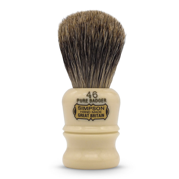 "Simpson's ""The Berkeley"" Pure Badger Shaving Brush"