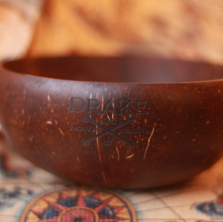 Drake's Coconut Shaving Bowl by Darwin