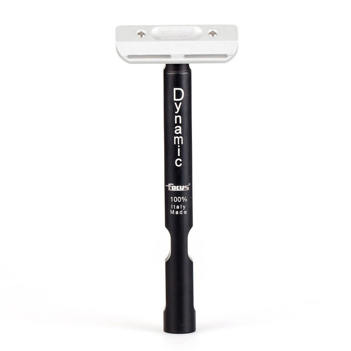 Focus R48 Dynamic Single Edge Safety Razor - Black