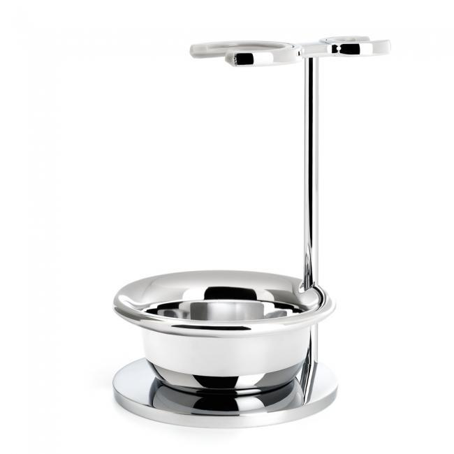 Muhle Chrome Razor And Brush Stand With Bowl RHM22S