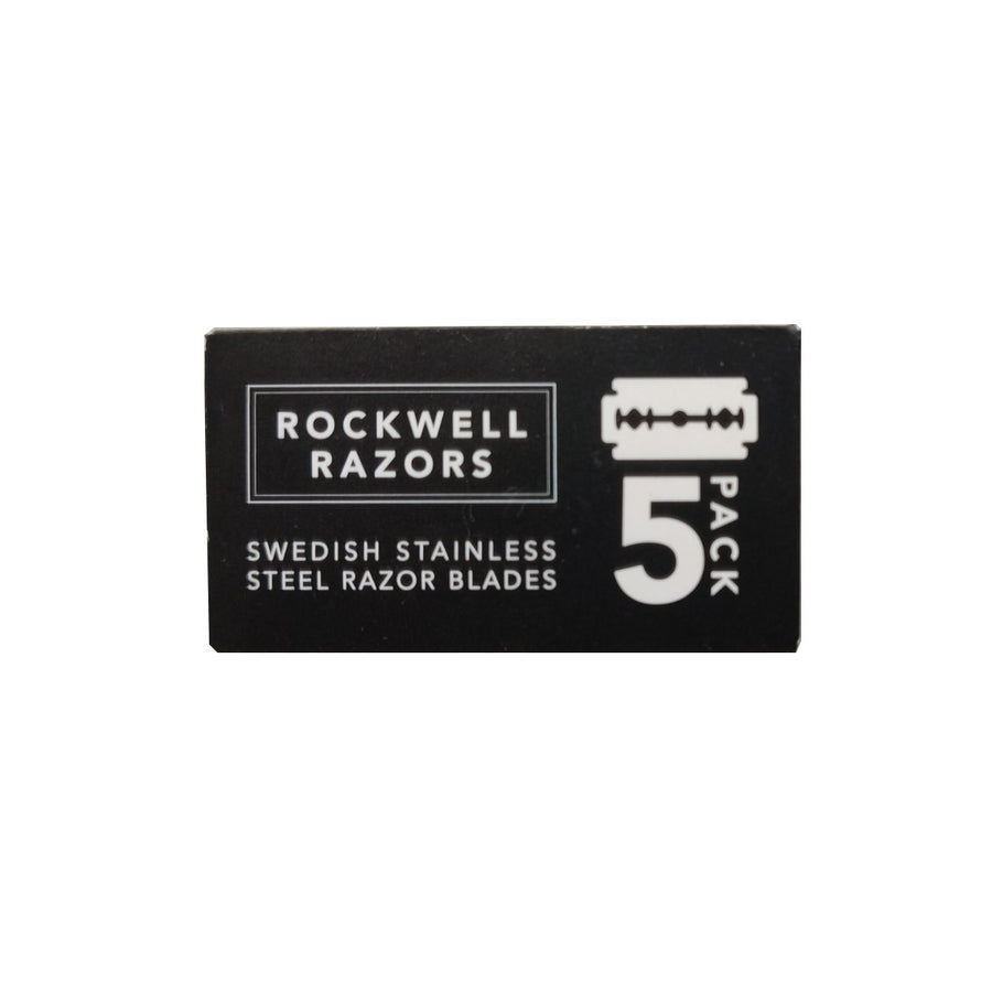 Rockwell Razors Swedish Stainless Steel DE Blades