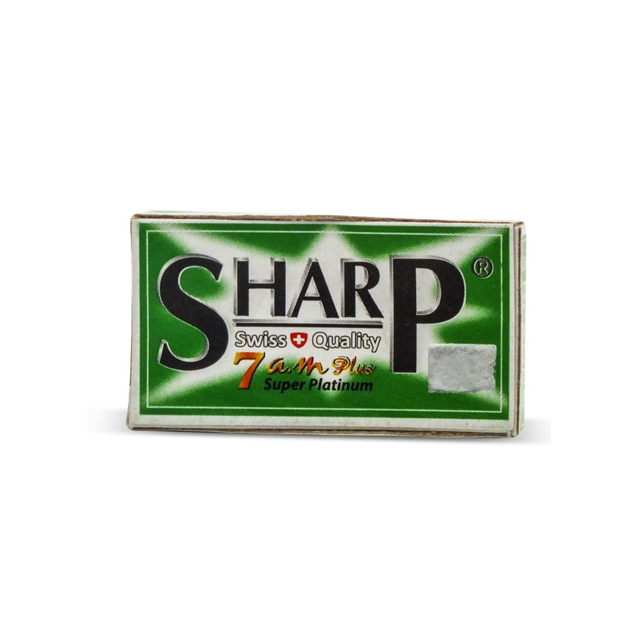Sharp 7am Super Platinum DE Blades