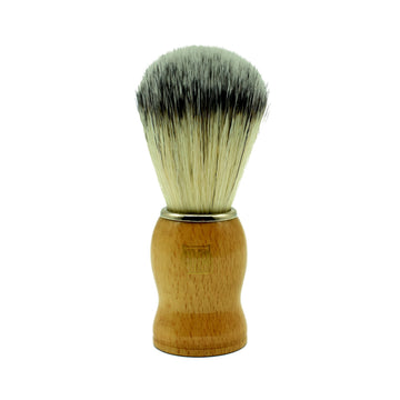 The Personal Barber Synthetic Hair Wooden Shaving Brush