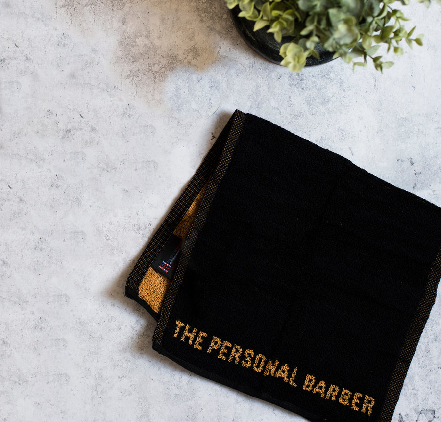 The Personal Barber Luxury Shaving Towel 2nd Edition