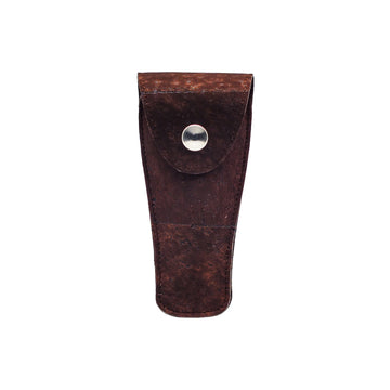 The Personal Barber Cork Safety Razor Case Brown