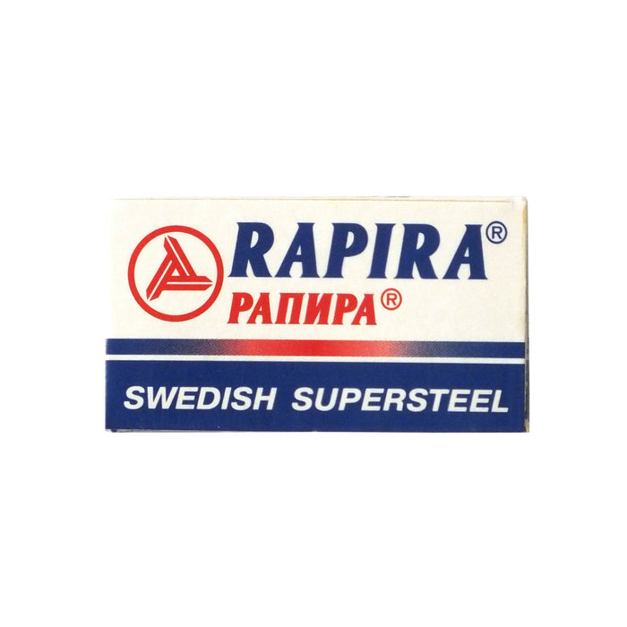 Double-Edge Blades - Rapira Swedish Supersteel DE Blades