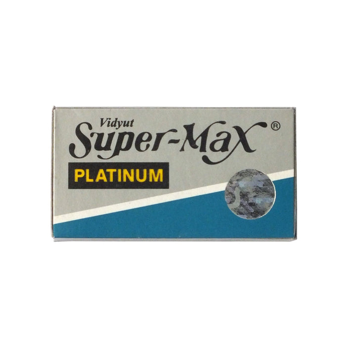 Double-Edge Blades - SuperMax Platinum DE Blades