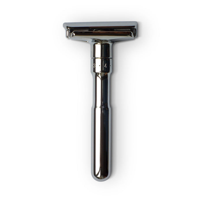 Double-Edge Safety Razor - Merkur Futur Polished Chrome Safety Razor