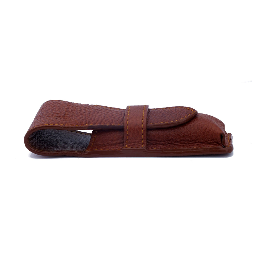 Parker Leather Safety Razor Case