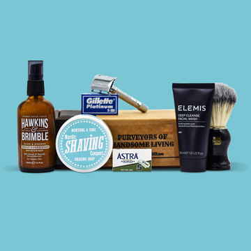 The July/Aug20 Shaving Kit