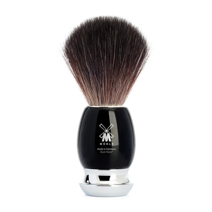 Muhle Vivo Black Resin Black Fibre Shaving Brush