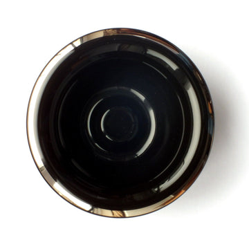 Muhle Black Porcelain Shaving Bowl