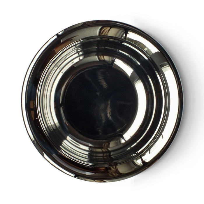 Shaving Bowl - Muhle Stainless Steel Shaving Bowl With Chrome Plating