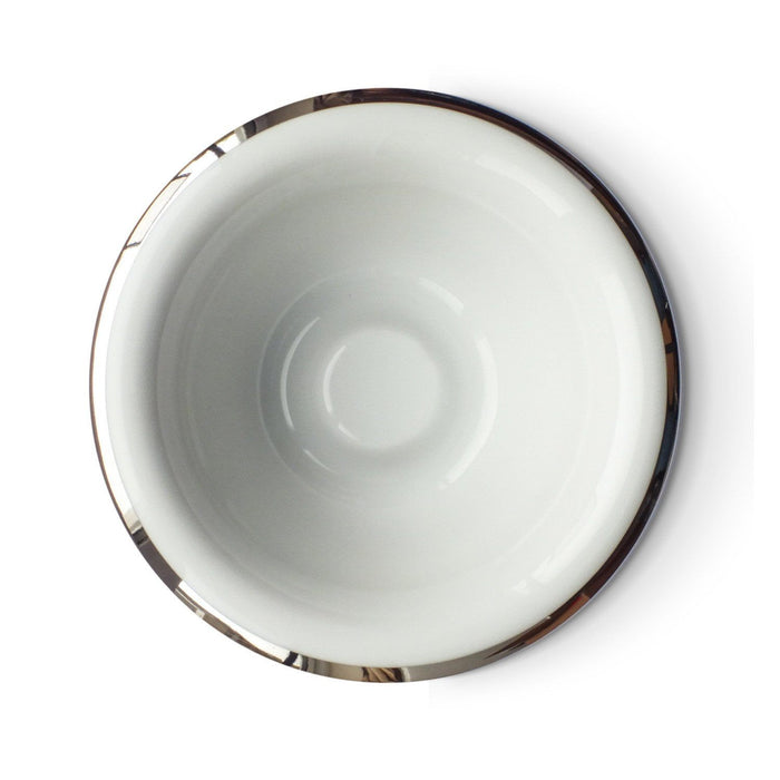Shaving Bowl - Muhle White Porcelain Shaving Bowl
