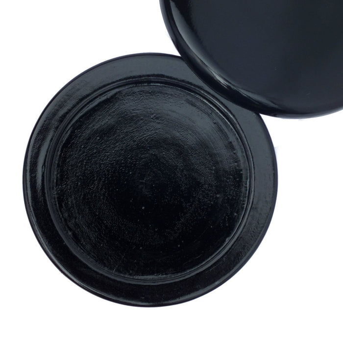 Parker BLSB Black Mango Wood Shaving Bowl